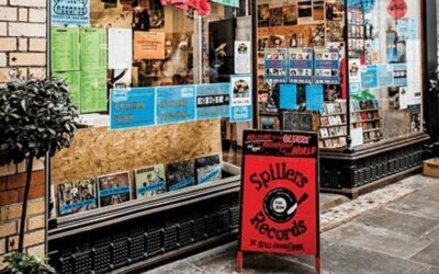 Record shops as social infrastructure